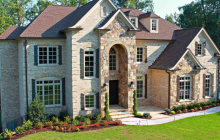 $1.4 Million Newly Built Brick & Stone Home In Alpharetta, GA