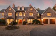 $2.2 Million Stone & Stucco Home In Hingham, MA