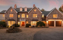 $2.2 Million Stone & Stucco Home In Hingham, MA