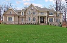 $2.195 Million Newly Built Colonial Home In Warren Township, NJ