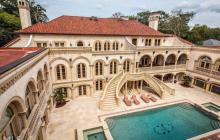 33,000 Square Foot Stone & Stucco Mega Mansion In Atlanta, GA