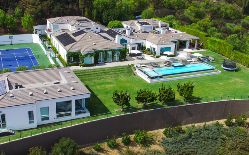 Gwen Stefani's $35 Million Beverly Hills Estate