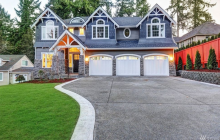 $2.298 Million Newly Built Craftsman Style Home In Bellevue, WA