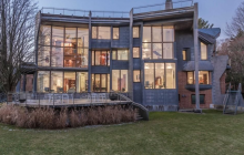 $12.8 Million Contemporary Mansion In Brookline, MA