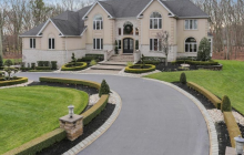 11,000 Square Foot Stone & Stucco Mansion In Freehold, NJ