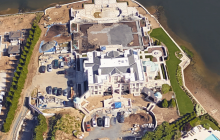 Palatial Newly Built Waterfront Mega Mansion In Kings Point, NY