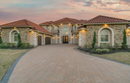 $1.65 Million Stone & Stucco Home In Cypress, TX