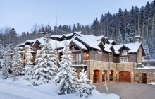 $16 Million Mountaintop Mansion In Snowmass Village, CO