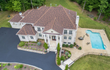 9,000 Square Foot Colonial Brick Mansion In Clifton, VA