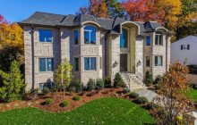 $2.5 Million Newly Built Brick, Stone & Stucco Home In Englewood Cliffs, NJ