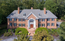 $2.475 Million Georgian Brick Mansion In Lutherville, MD