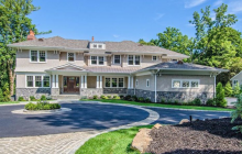 $3.795 Million Newly Built Shingle & Stone Home In Roslyn, NY