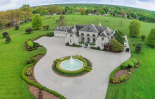 12,000 Square Foot Mansion On 25 Acres In Lawrenceburg, TN