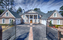 10,000 Square Foot Newly Built Colonial Brick Mansion In Cumming, GA