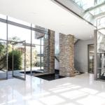 Foyer w/ Staircase & Elevator