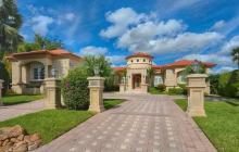 $5.9 Million Mediterranean Waterfront Home In Surfside, FL