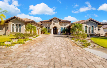 $1.9 Million Mediterranean Stucco Home In Parrish, FL