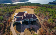 $1.85 Million Stucco Mansion In Roland, AR