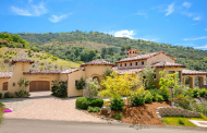 $2 Million Spanish Style Home In Rancho Santa Fe, CA