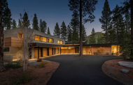 $15.995 Million Newly Built Contemporary Mansion In Truckee, CA