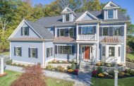 $2.775 Million Newly Built Colonial Home In Lexington, MA