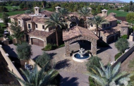 $12.9 Million Stone & Stucco Mansion In La Quinta, CA