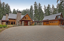 $2.85 Million Wood & Stone Home In Hillsboro, OR