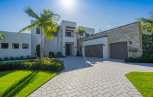 $4.5 Million Newly Built Contemporary Home In Palm Beach Gardens, FL