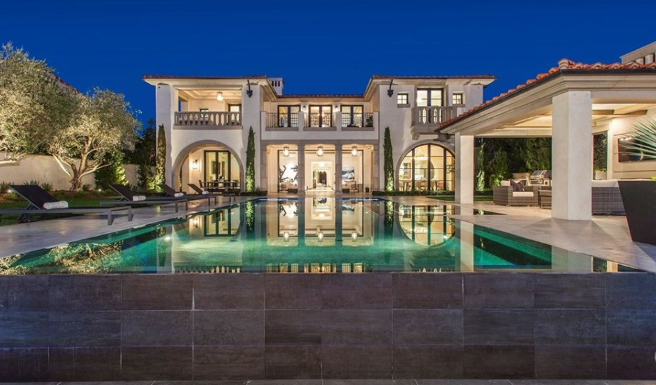 12 000 square foot newly built mansion in newport coast for Rich homes in california
