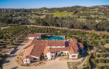 $7.75 Million Newly Built Estate In Rancho Santa Fe, CA
