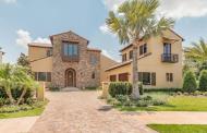 $2.35 Million Newly Built Stone & Stucco Home In Golden Oak, FL