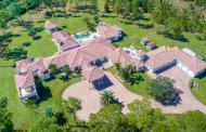 11,000 Square Foot Mansion On 20 Acres In Jupiter, FL