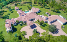 11,000 Square Foot Mansion On 20 Acres In Jupiter, FL
