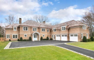 $5.25 Million Newly Built Shingle Mansion In Darien, CT