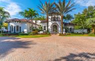 $3.5 Million Mediterranean Mansion In Pinecrest, FL