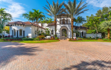 $3.5 Million Mediterranean Mansion In Pinecrest, FL