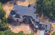 30,000+ Square Foot Mega Mansion Under Construction In Potomac, MD