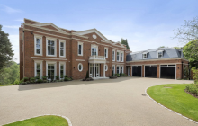 Falconwood House – A Newly Built Brick Mansion In Surrey, England