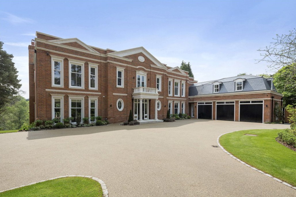 Falconwood House - A Newly Built Brick Mansion In Surrey, England
