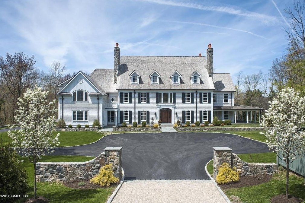 13,000 Square Foot Georgian Colonial Mansion In Greenwich, CT
