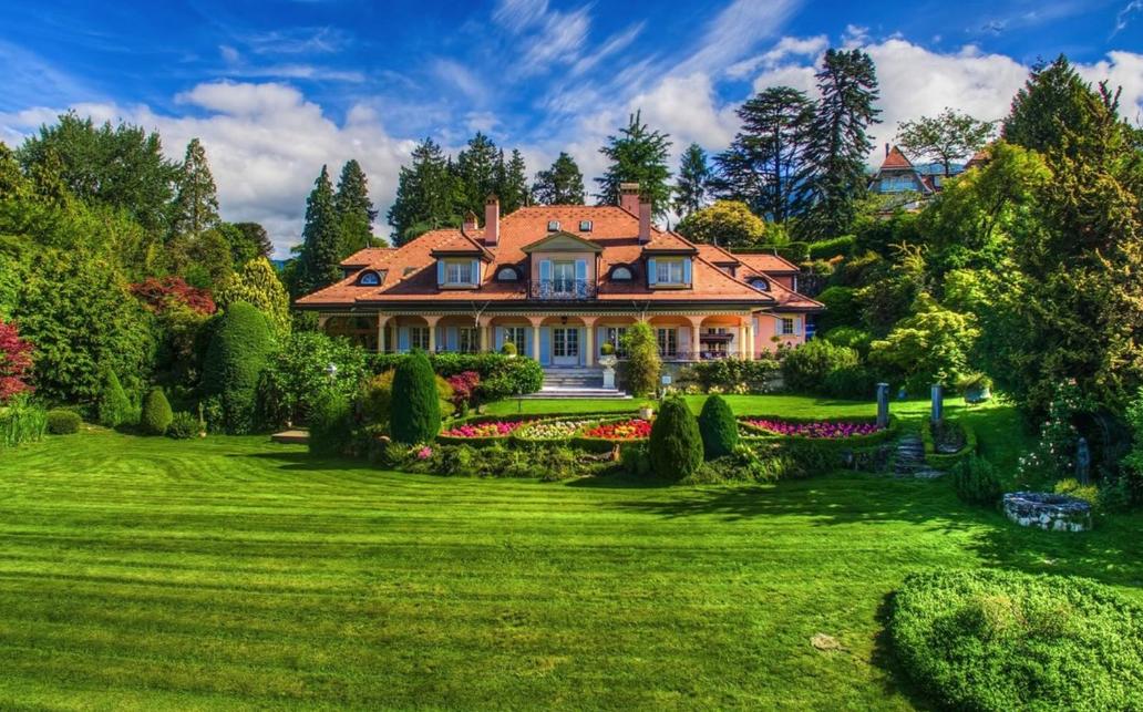 Charming Mansion In Montreux, Switzerland