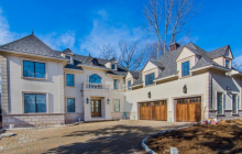 $3.5 Million Newly Built European Inspired Mansion In Englewood, NJ