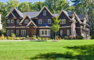 9,000 Square Foot Newly Built Colonial Shingle Mansion In Short Hills, NJ