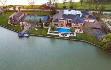 $6.5 Million Lakefront Estate In Sugar Land, TX