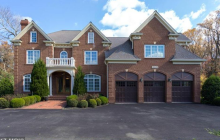 $1.95 Million Brick Colonial Home In Potomac, MD