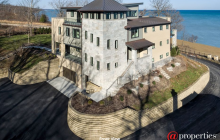 $4.8 Million Newly Built Contemporary Lakefront Home In Highland Park, IL (W/ FLOOR PLANS)