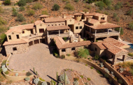 14,000 Square Foot Stone & Stucco Mansion In Fountain Hills, AZ