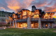 13,000 Square Foot Stone & Wood Mansion In Park City, UT