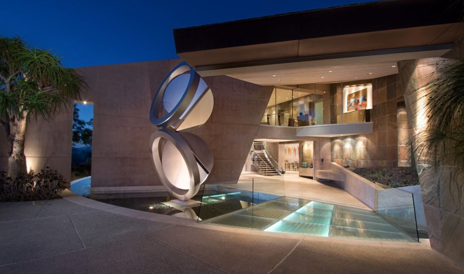 Incredible 45 million modern estate in rancho santa fe ca homes of the rich
