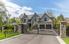 10,000 Square Foot Stone & Stucco Mansion In Ontario, Canada